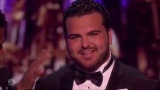 Sal Valentinetti: The Voice With MEGA Performance | Semi-finals 1 (FULL) | America's Got Talent 2016