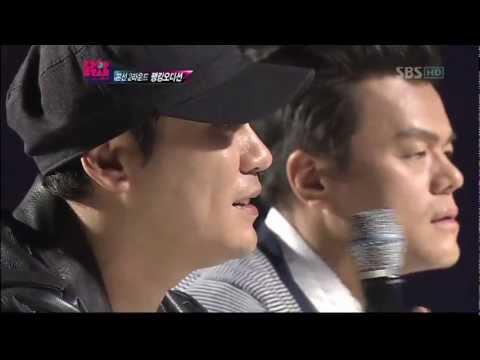 YG singing Dara's part in lonely cut