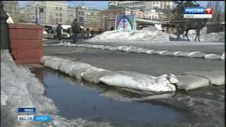 Омская область готовится к паводку