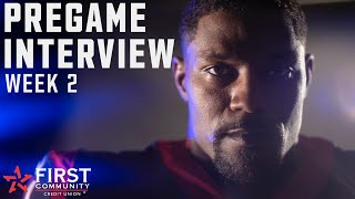 David Johnson Shares his Thoughts Going into Baltimore Ravens at Houston Texans | Pregame Interview