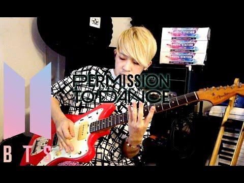Permission to DanceGuitar Cover | BTS (방탄소년단)