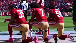 Why Colin Kaepernick started kneeling during the national anthem