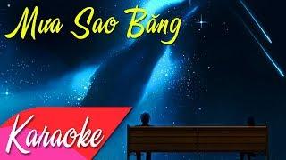 KARAOKE | Mưa Sao Băng (Remix) - St. Minh Khang | Beat Chuẩn