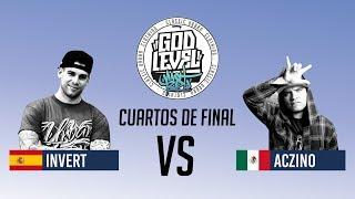 ACZINO VS INVERT / CUARTOS / GOD LEVEL ARGENTINA