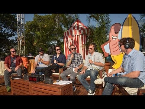 Jimmy Eat World Backstage Interview At KROQ Weenie Roast 2013 ...