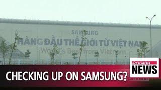 Kim Jong-un's close aide checks areas around Samsung Electronics manufacturing plant in Vietnam