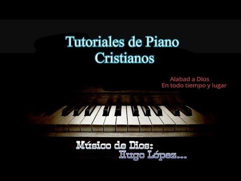 Te Alabare mi buen Jesus rojo Tutorial de Piano