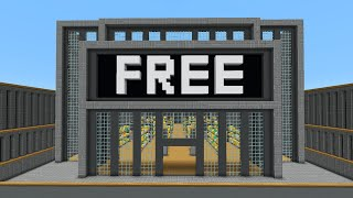 I Opened A Free Store In Minecraft!