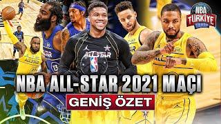 NBA ALL STAR 2021 MAÇI | GENİŞ ÖZET (7 Mart 2021)