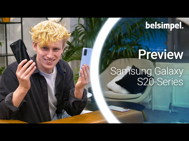 Belsimpel-productvideo voor de Samsung Galaxy S20 4G 128GB G980 Blue