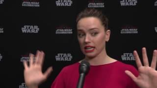 "Star Wars: The Last Jedi: Daisy Ridley ""Rey"" Star Wars Celebration 2017 Interview"