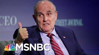 Joe: Rudy Giuliani Allows Himself To Be 'Trump's Chump'   Morning Joe   MSNBC