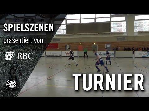 Hertha BSC - SG Wattenscheid 09 (13. Range Bau Cup, U17 B-Junioren, Zwischenrunde) - Spielszenen | SPREEKICK.TV