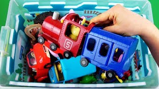 Characters, vehicles, colors & fun: Disney Cars, Moana, Batman etc toys - Learn videos for Children!