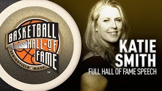 Katie Smith Hall of Fame Induction Speech