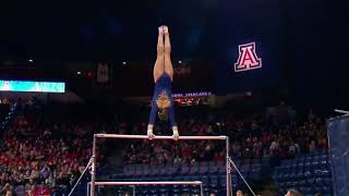 Kyla Ross (UCLA) 2018 Bars vs Arizona 9.925