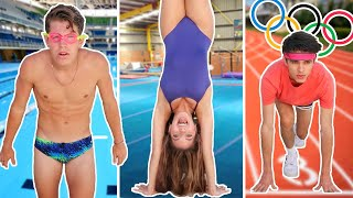 WE COMPETE IN THE OLYMPICS!! (YouTuber Olympics)
