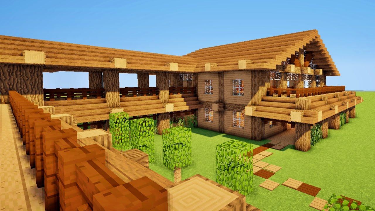 Maison En Bois Minecraft