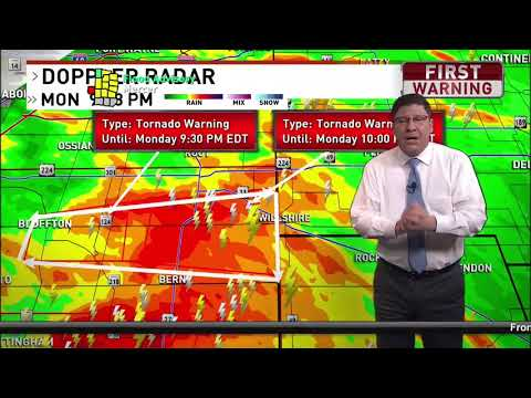 Weatherman calls out viewers complaining about a tornado warning during The Bachelorette