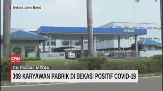 369 Karyawan Pabrik di Bekasi Positif Covid-19