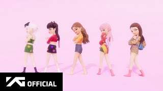 BLACKPINK X Selena Gomez - 'Ice Cream' DANCE PERFORMANCE VIDEO (in ZEPETO)