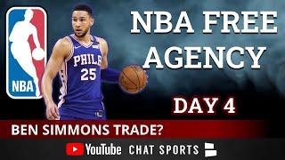 NBA Free Agency LIVE - Day 4: Ben Simmons Trade Rumors, Kawhi Leonard Latest, Damian Lillard Trade?
