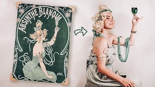 Recreating Vintage Ads! (with items I already own)