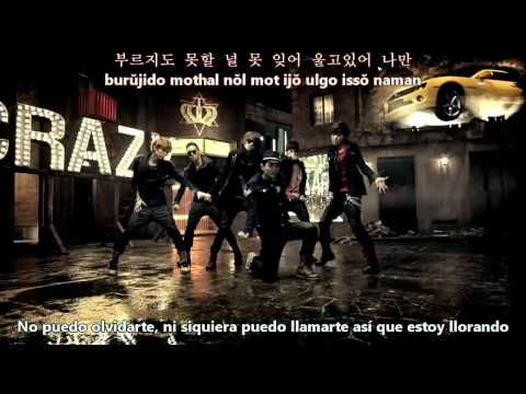 Teen Top - Crazy [Sub Español + Hangul + Romanización]
