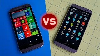 HTC  One M8 for Windows vs HTC One M8