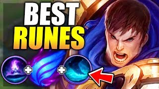 THE BEST WAY TO PLAY GAREN IN SEASON 8! THESE ARE  THE BEST RUNES! - League of Legends