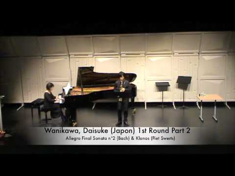 Wanikawa, Daisuke (Japon) 1st Round Part 2