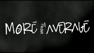 More Than Average
