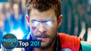 Top 20 Most Rewatched Marvel Movie Scenes