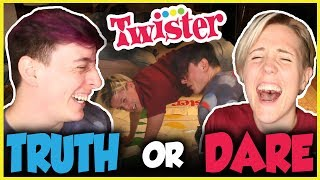 Twister TRUTH OR DARE! | Thomas Sanders feat. Hannah Hart!