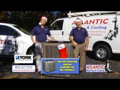 Atlantic Heating & Cooling - Special Financing on York Systems