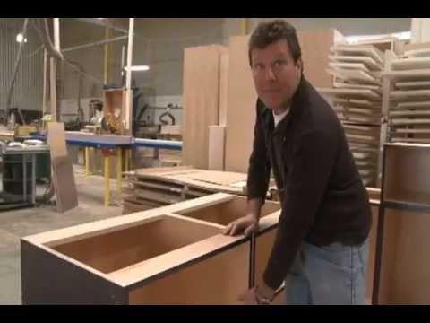 Bradco Kitchens Custom cabinet factory.flv