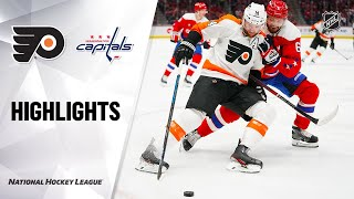 NHL Highlights | Flyers @ Capitals 02/08/20