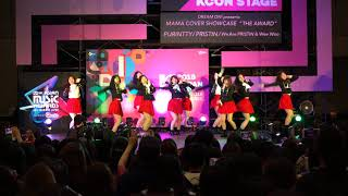 PURINTTY「Pristin - We Are Pristin + Wee Woo」 KCON 2018 MAMA COVER SHOW 2018.04.15. sun
