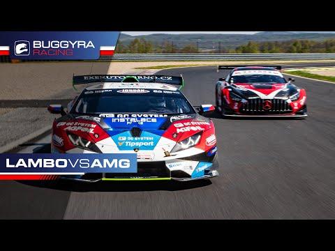 Huracan ST vs. AMG GT3 dragrace
