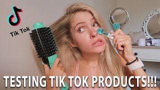 testing products i found on TikTok!!!!