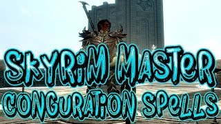 Skyrim How To Get The Master Conjuration Spells