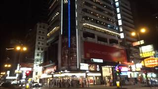Hong Kong Kowloon at Night