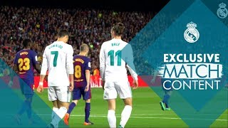 Barcelona vs Real Madrid 2 - 2 | El Clásico exclusive MATCH footage ...