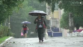 Тайфун приближается. Школы отменяются. Артём наготове