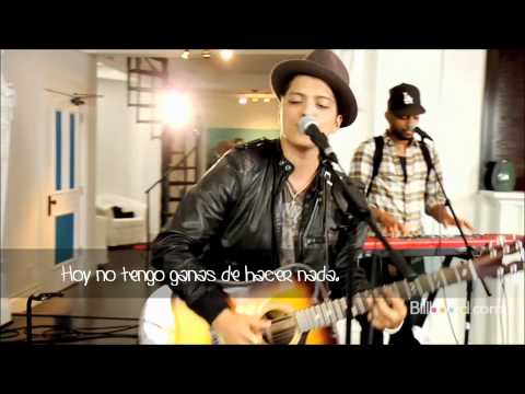 Bruno Mars - The lazy Song / Subtitulada en español