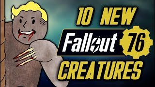 10 Terrifying New Creatures in Fallout 76