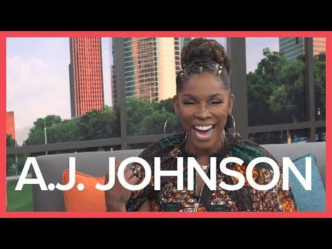 Actress A.J. Johnson