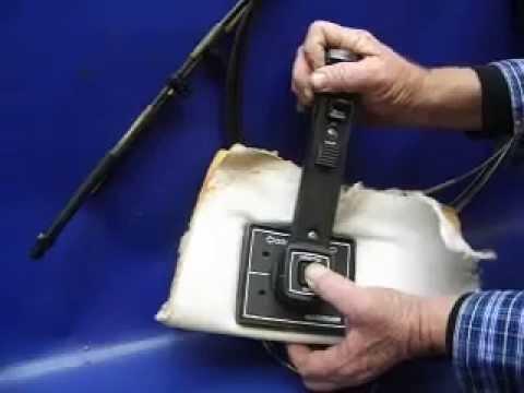 Sold Mercruiser Quicksilver Shifter Control Handle Flush