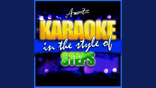 I Think It's Love (In the Style of Steps) (Karaoke Version)