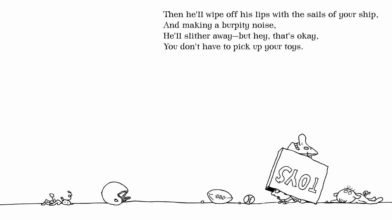 Shel Silverstein Poems: Shel Silverstein: 'The Toy Eater' From Falling Up